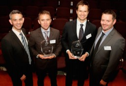 Filippo Dall'Osso premiato in occasione del Resilient Australia Award
