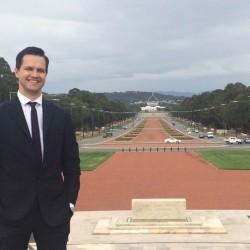 Filippo Dall'Osso a Canberra