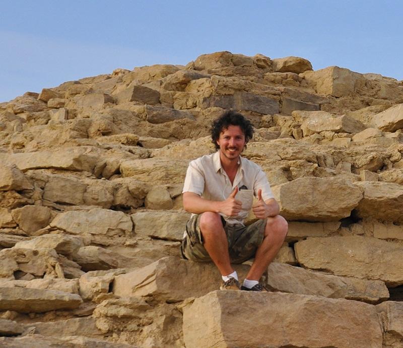 Alberto Urcia - Piramide di Edfu