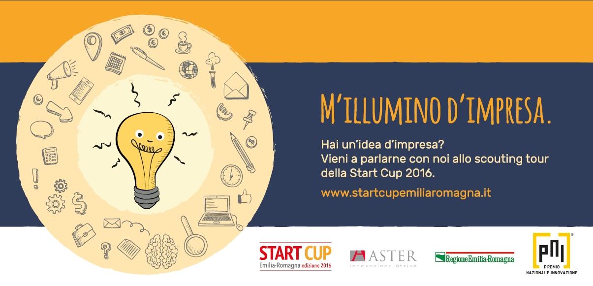 Start cup 2016 concorso per le start up del territorio for Idee start up 2016