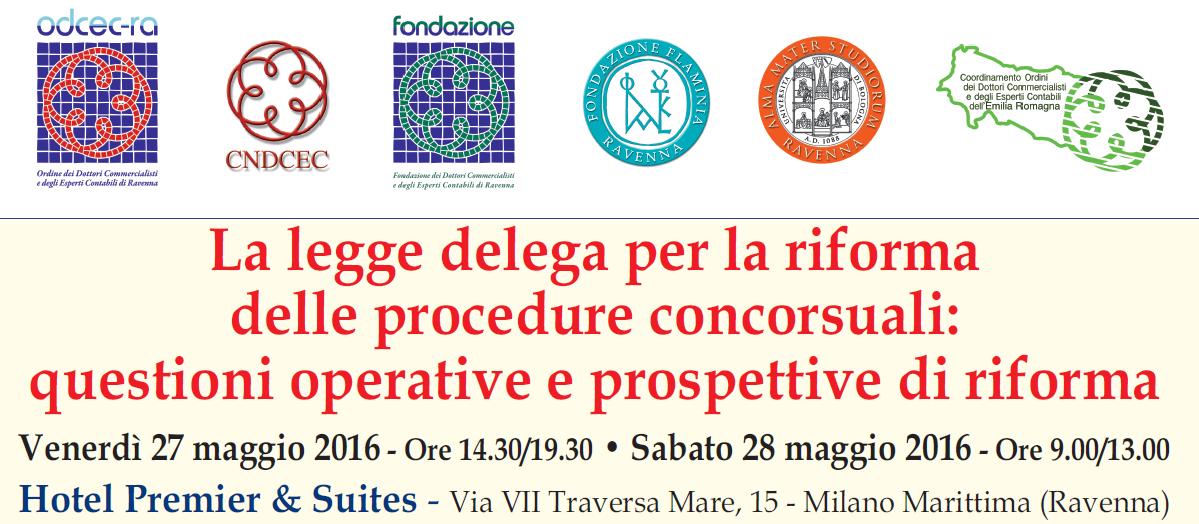 La legge delega per la riforma delle procedure concorsuali for Planimetrie per aggiunta suite in legge