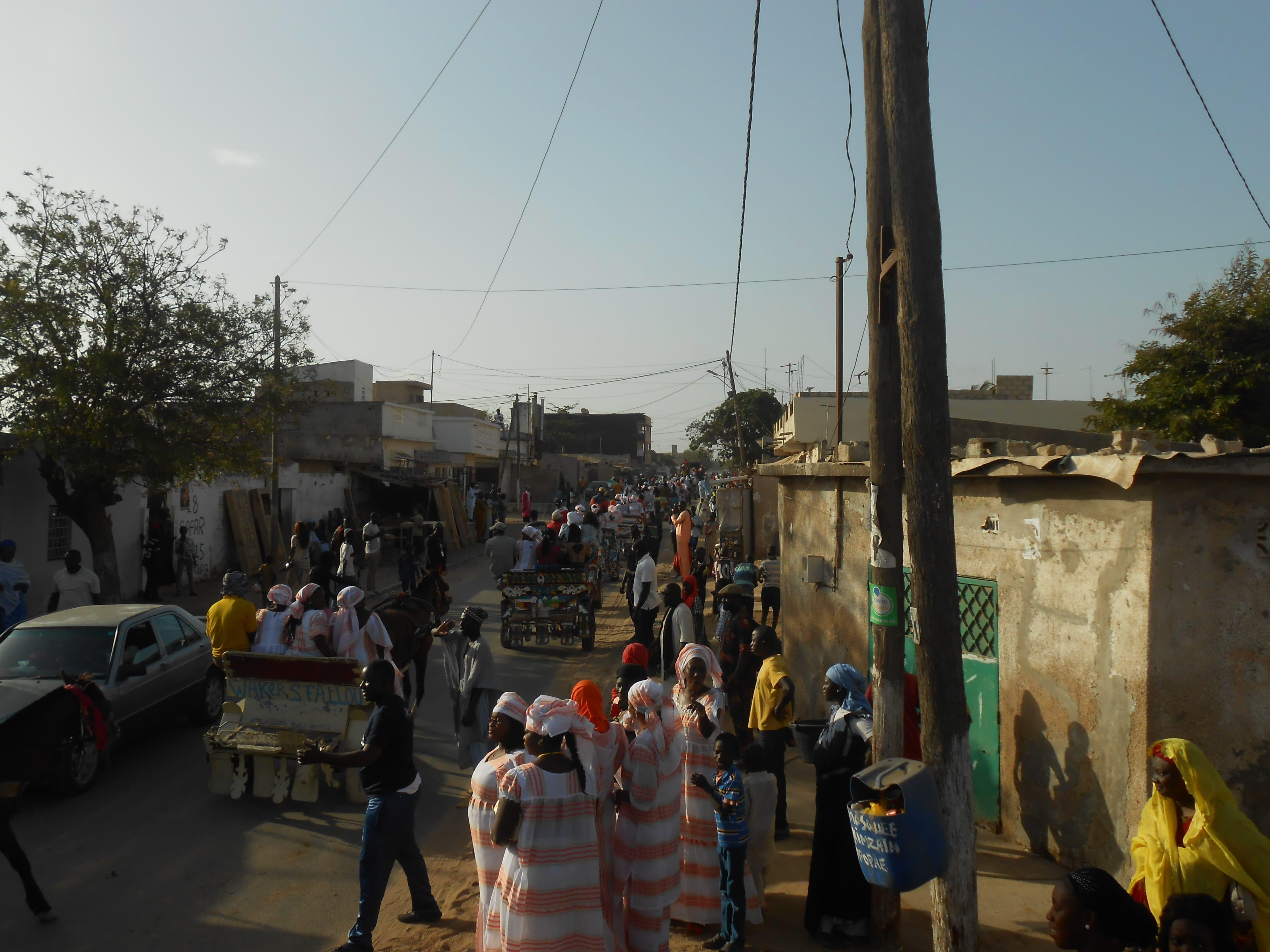 Per le strade di Dakar