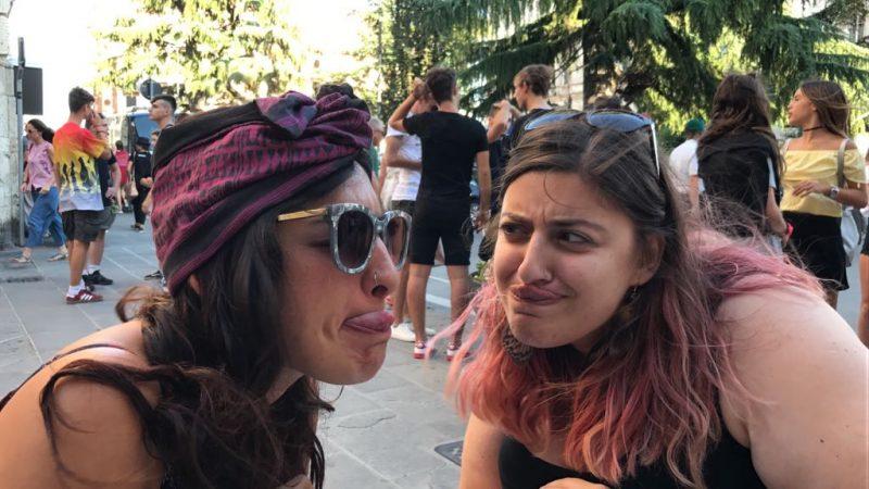 Lingua e cugina a Perugia